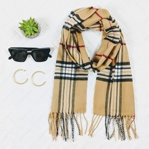 NEW Winter Scarf Plaid Like Burberry